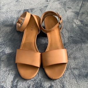 Jcrew Block Heel Sandals